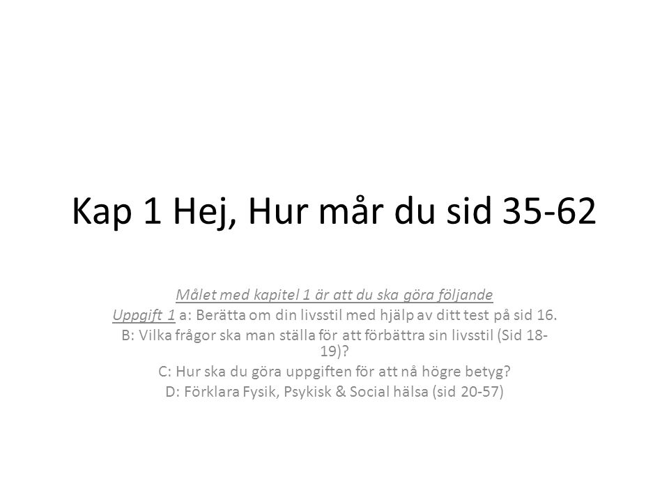 mental hälsa test
