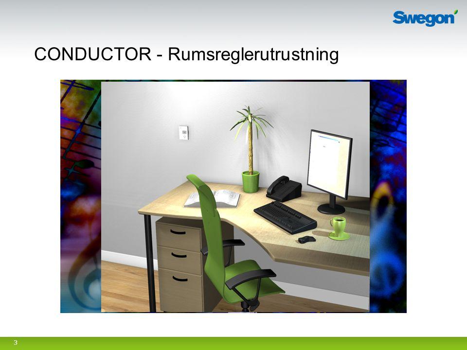 CONDUCTOR - Rumsreglerutrustning