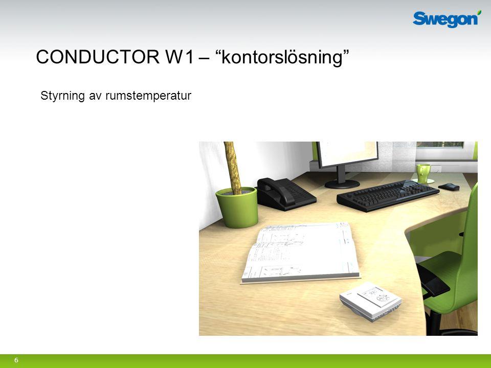 CONDUCTOR W1 – kontorslösning