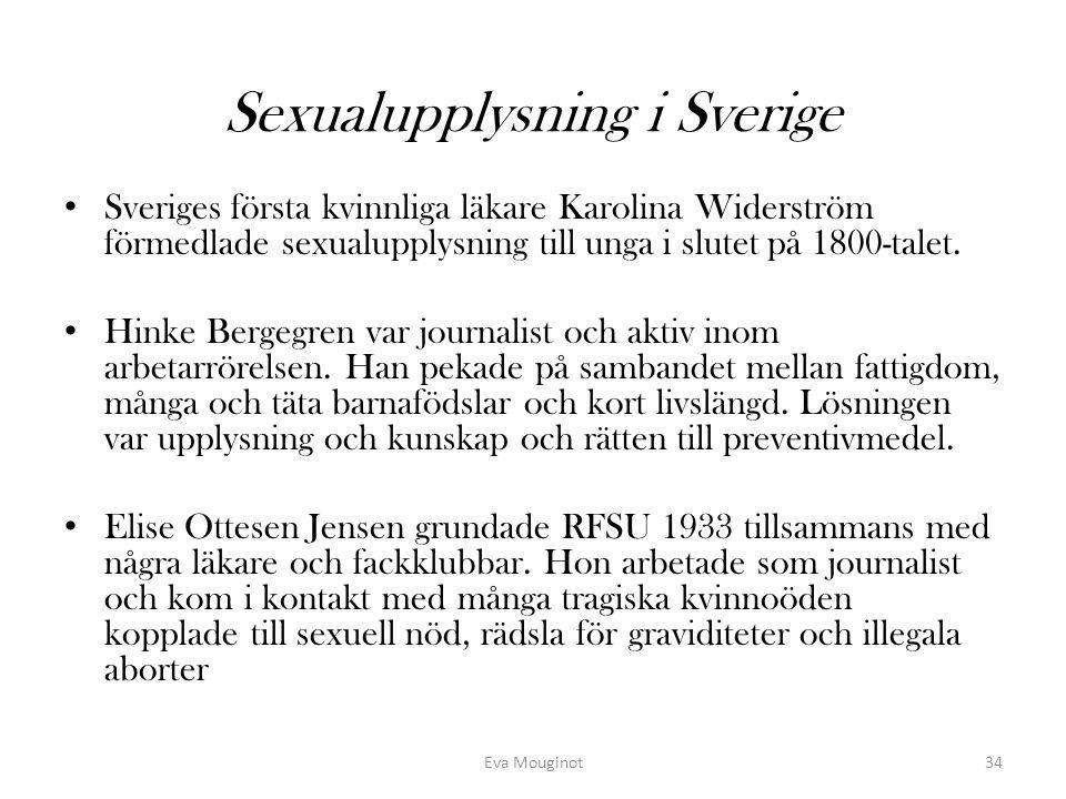 Sexualupplysning i Sverige