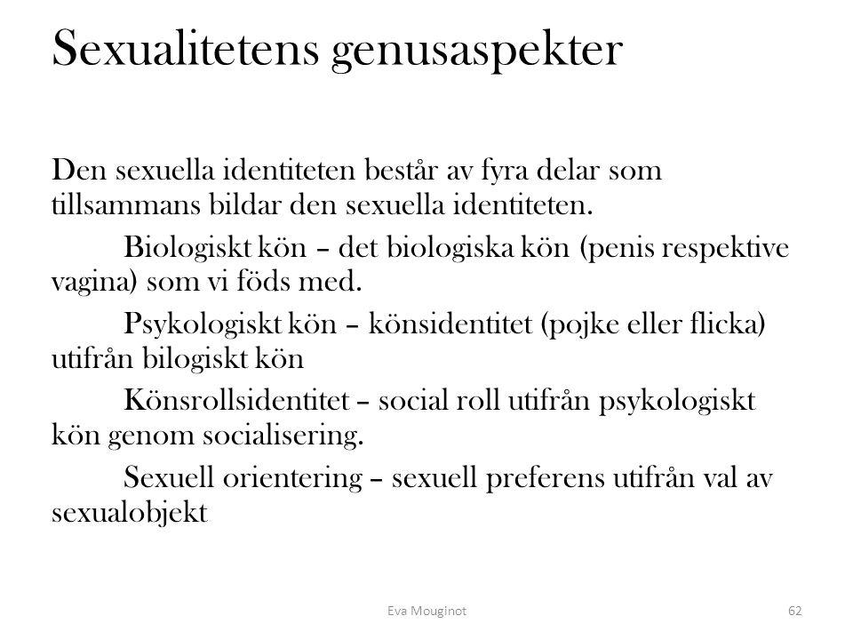Sexualitetens genusaspekter