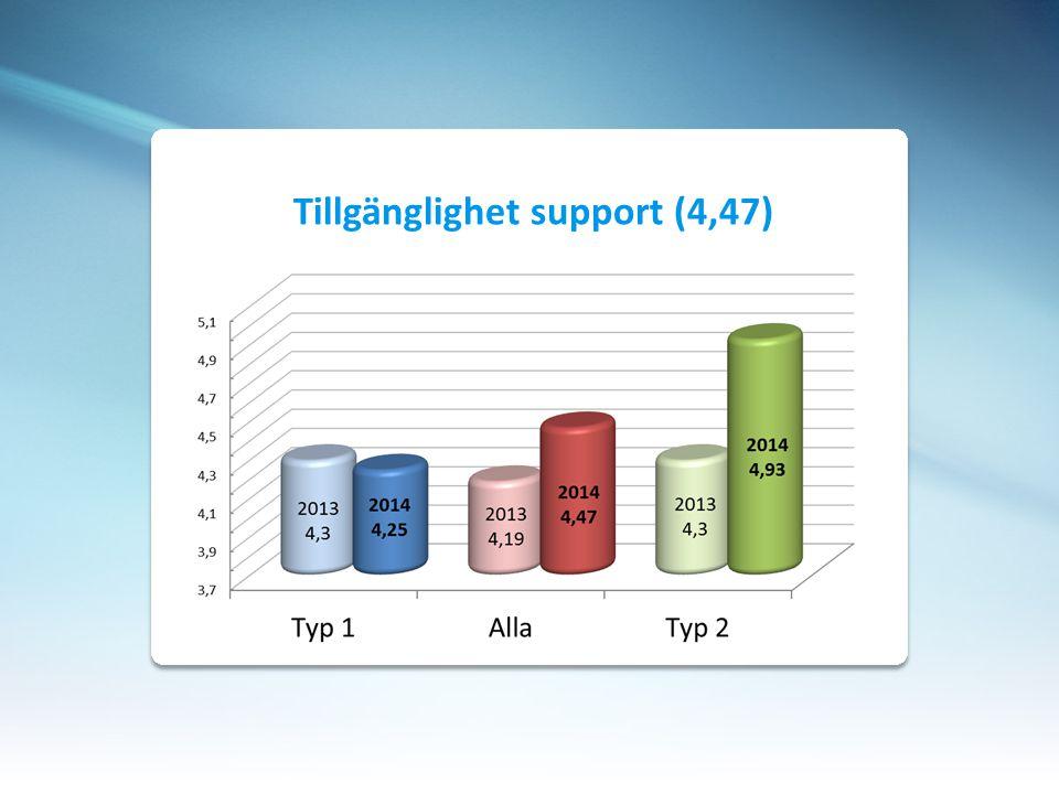 Tillgänglighet support (4,47)
