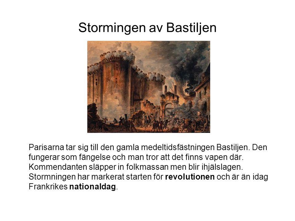 Stormingen av Bastiljen