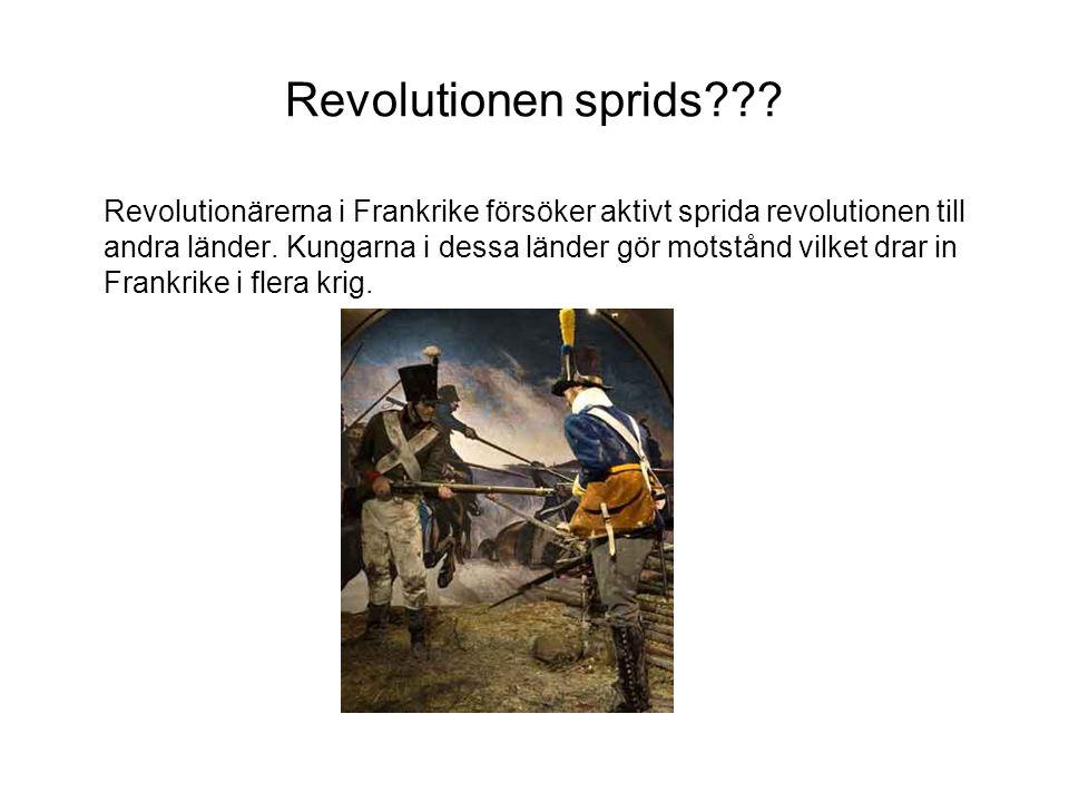 Revolutionen sprids