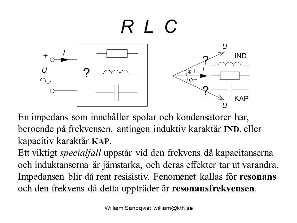 William Sandqvist william@kth.se