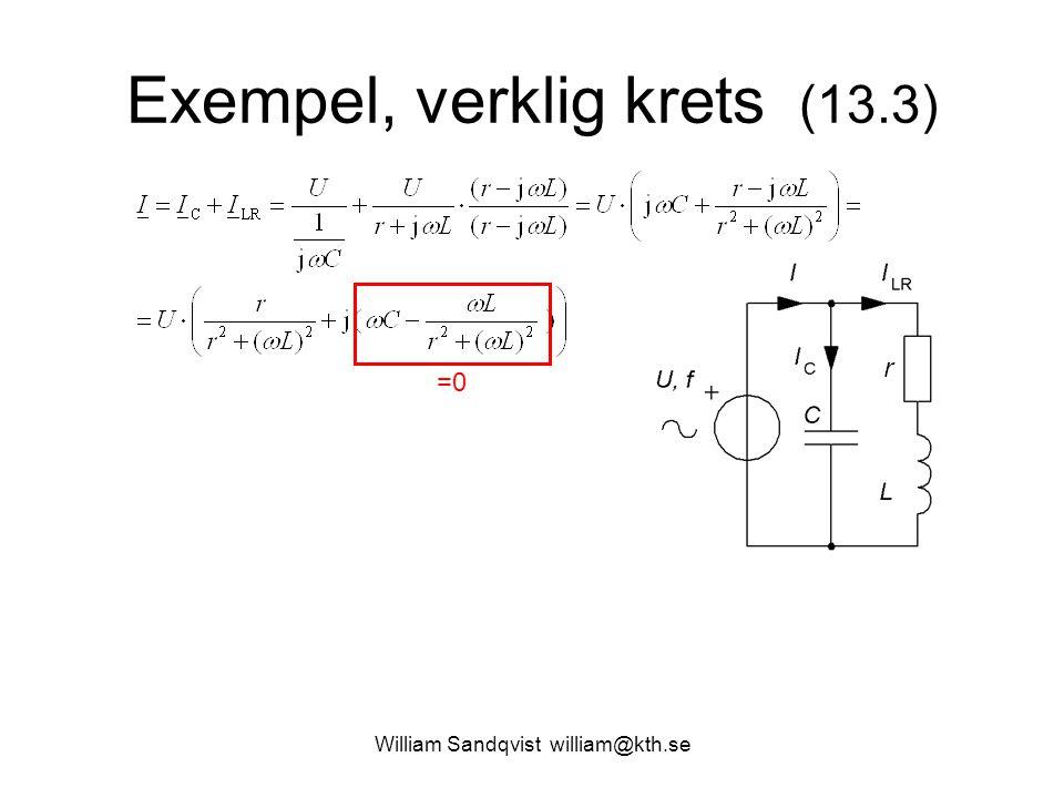 Exempel, verklig krets (13.3)