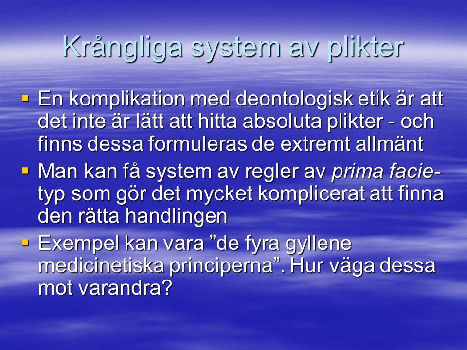 Krångliga system av plikter