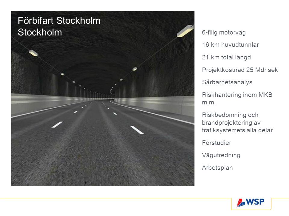 Förbifart Stockholm Stockholm