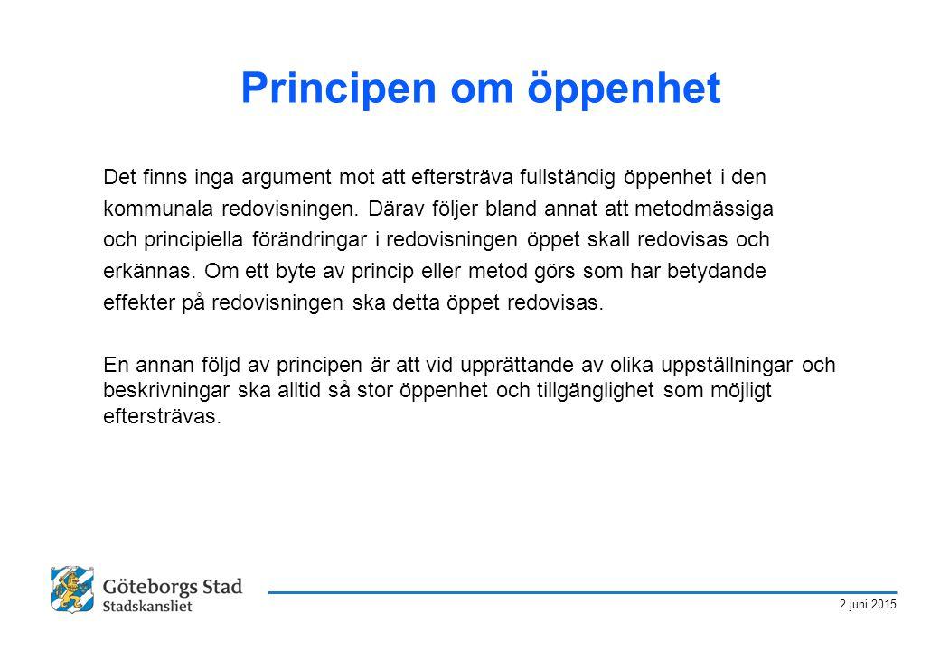 Principen om öppenhet Det finns inga argument mot att eftersträva fullständig öppenhet i den.