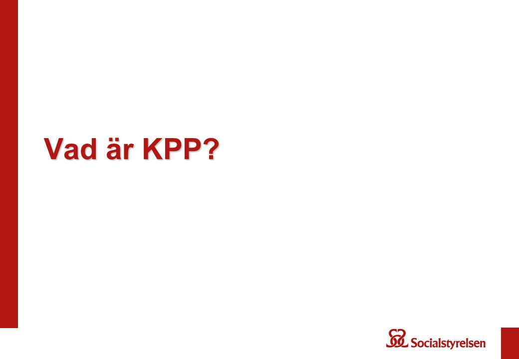Vad är KPP