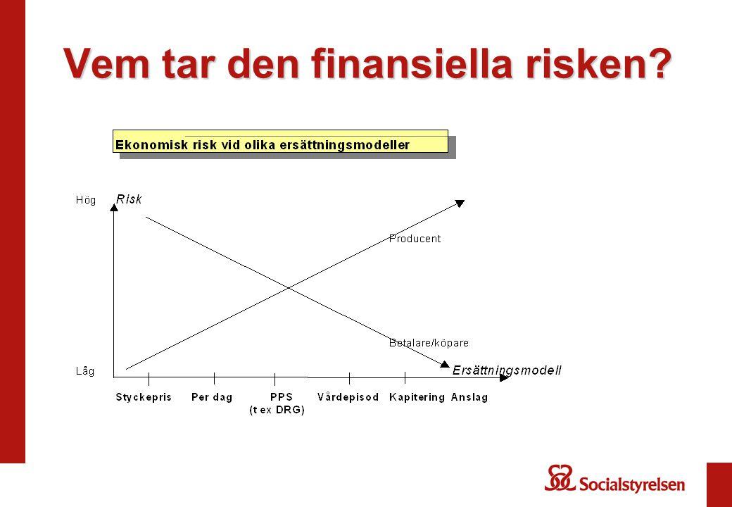 Vem tar den finansiella risken