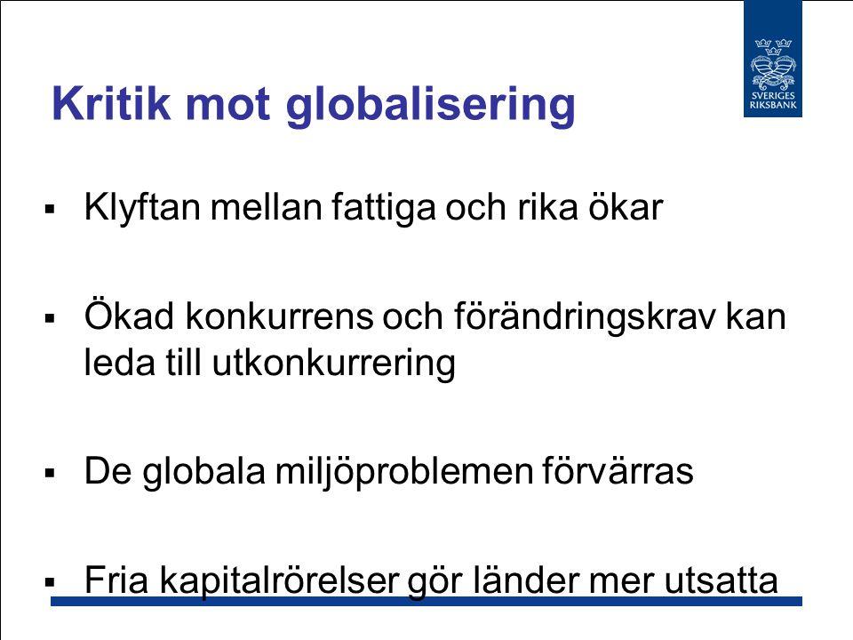 Kritik mot globalisering