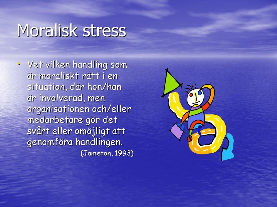 Moralisk stress