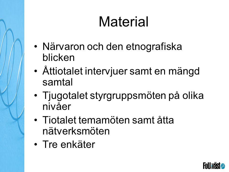 Material Närvaron och den etnografiska blicken