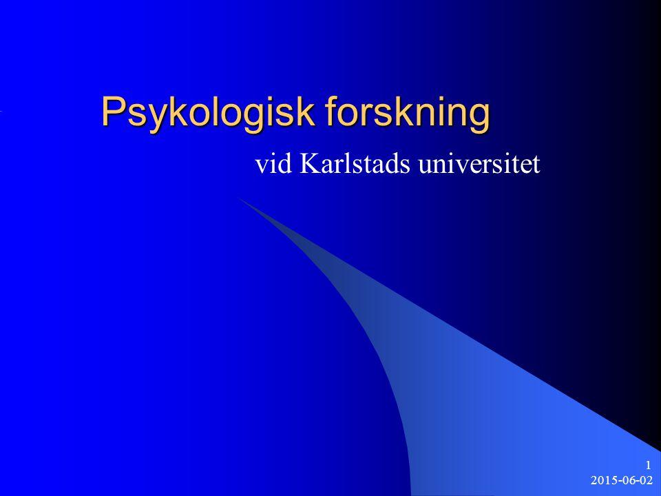 Psykologisk forskning