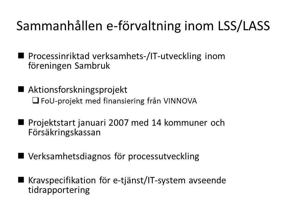 Sammanhållen e-förvaltning inom LSS/LASS