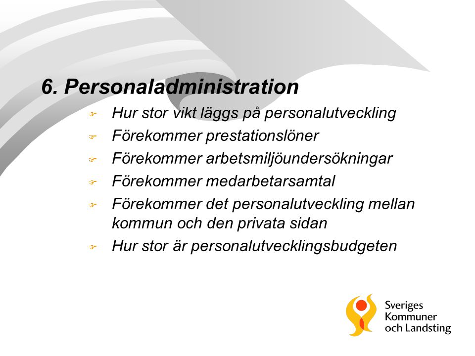 6. Personaladministration