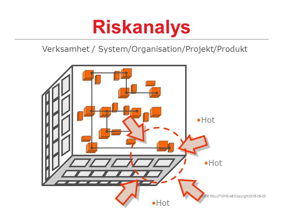 Verksamhet / System/Organisation/Projekt/Produkt