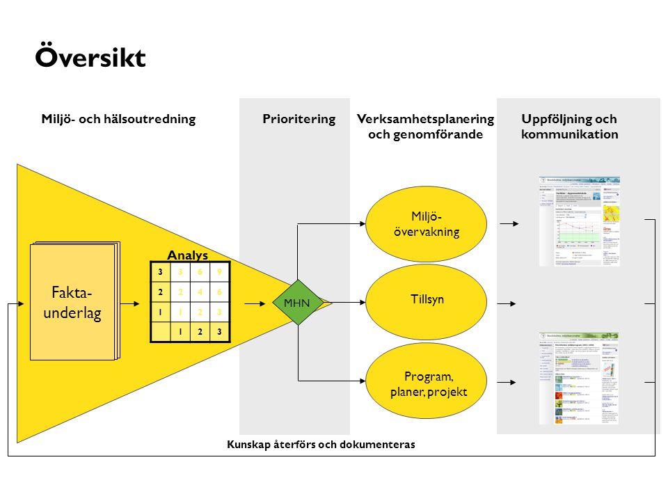 Verksamhetsplanering och genomförande
