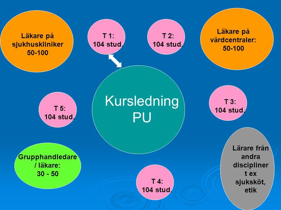 Kursledning PU Läkare på vårdcentraler: 50-100
