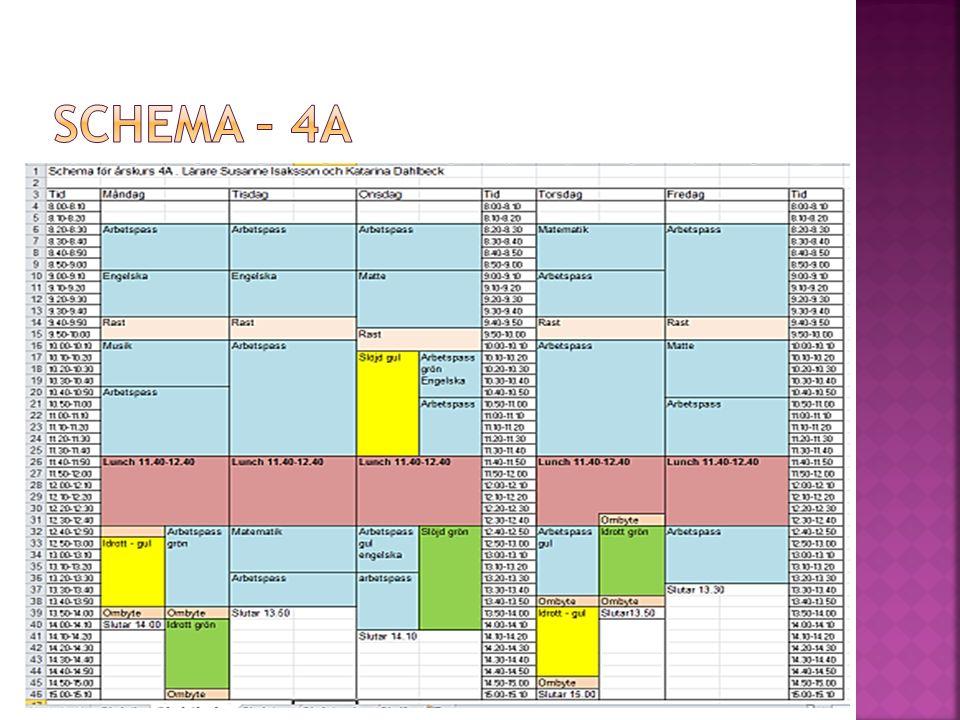 Schema – 4A