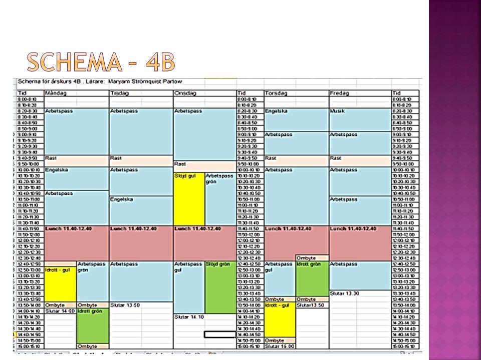 Schema – 4B
