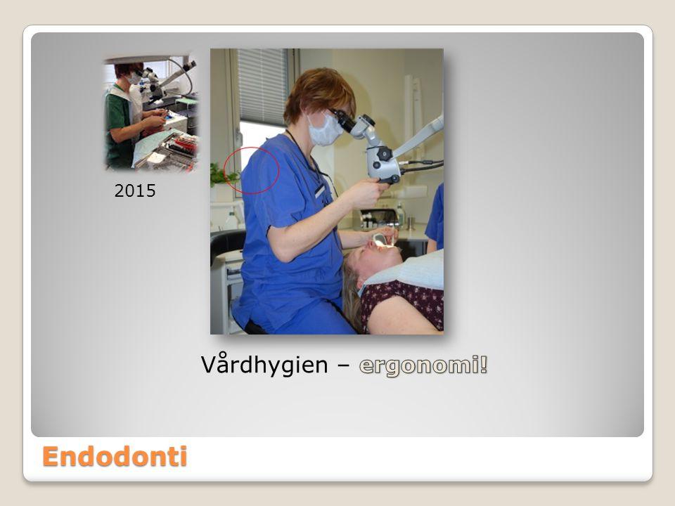 2015 Vårdhygien – ergonomi! Endodonti