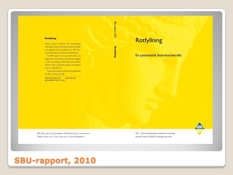 SBU-rapport, 2010