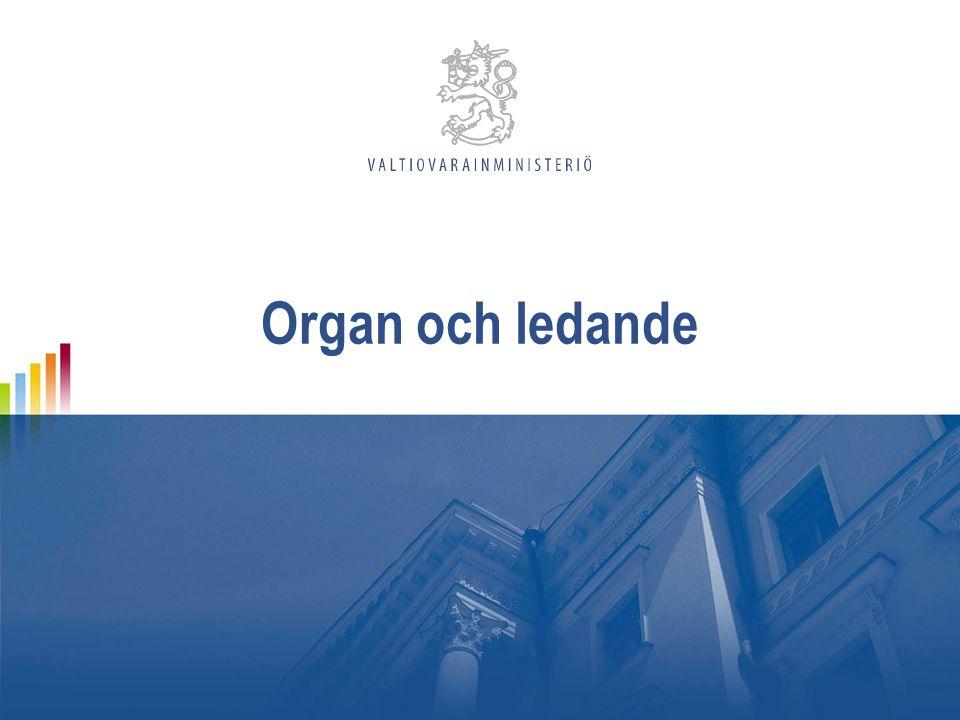 Organ och ledande