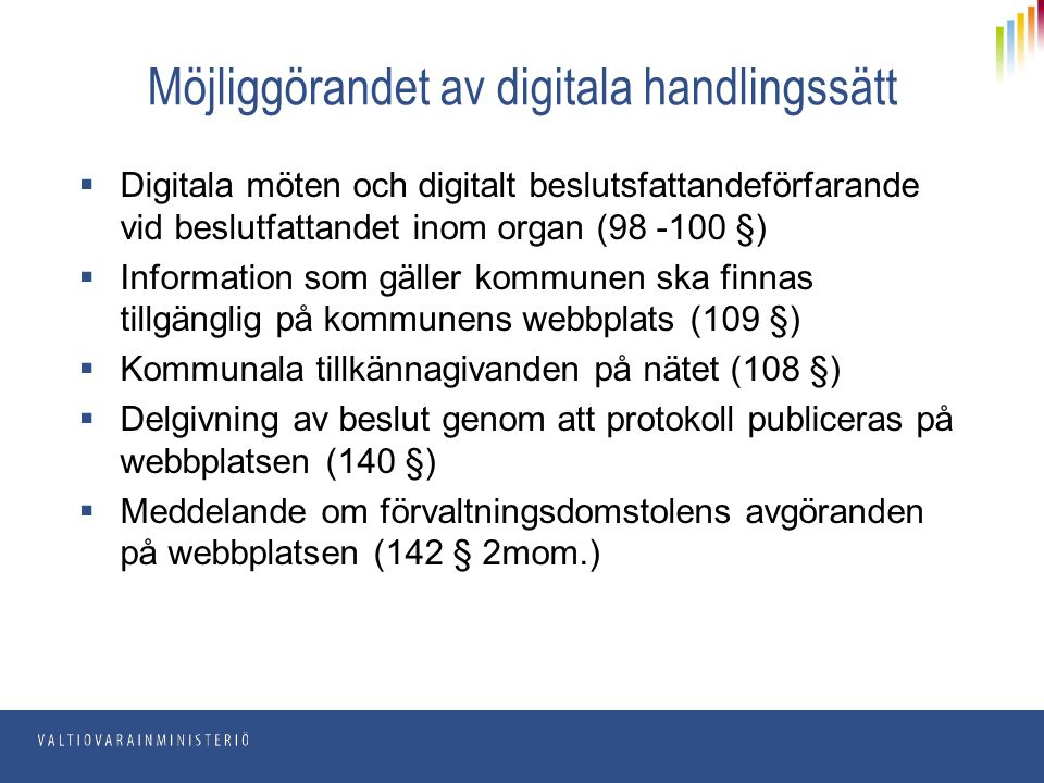 Möjliggörandet av digitala handlingssätt