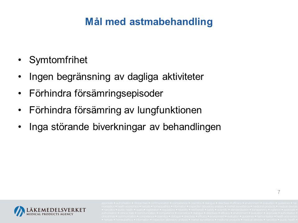 Mål med astmabehandling