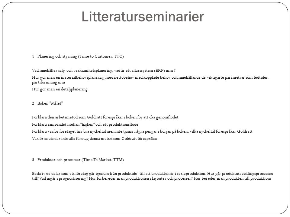 Litteraturseminarier