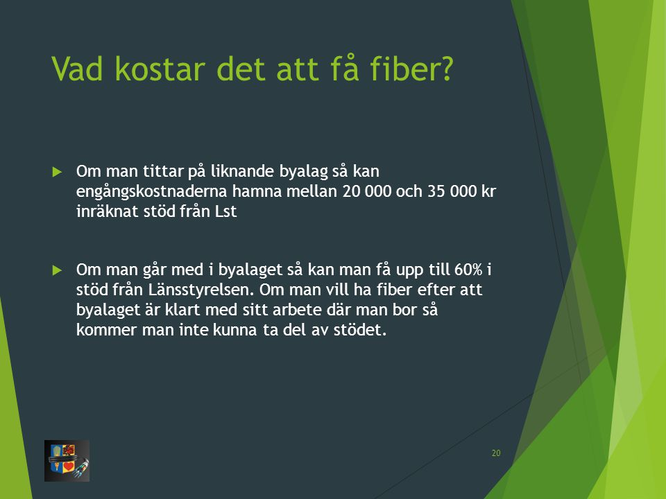 Vad kostar det att få fiber