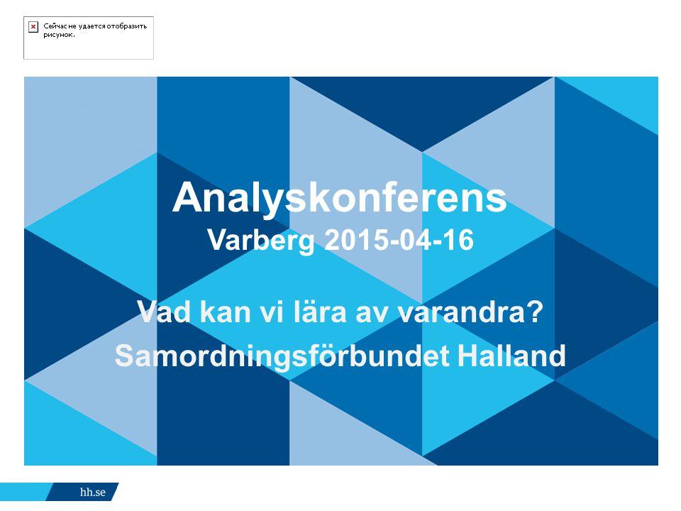 Analyskonferens Varberg 2015-04-16