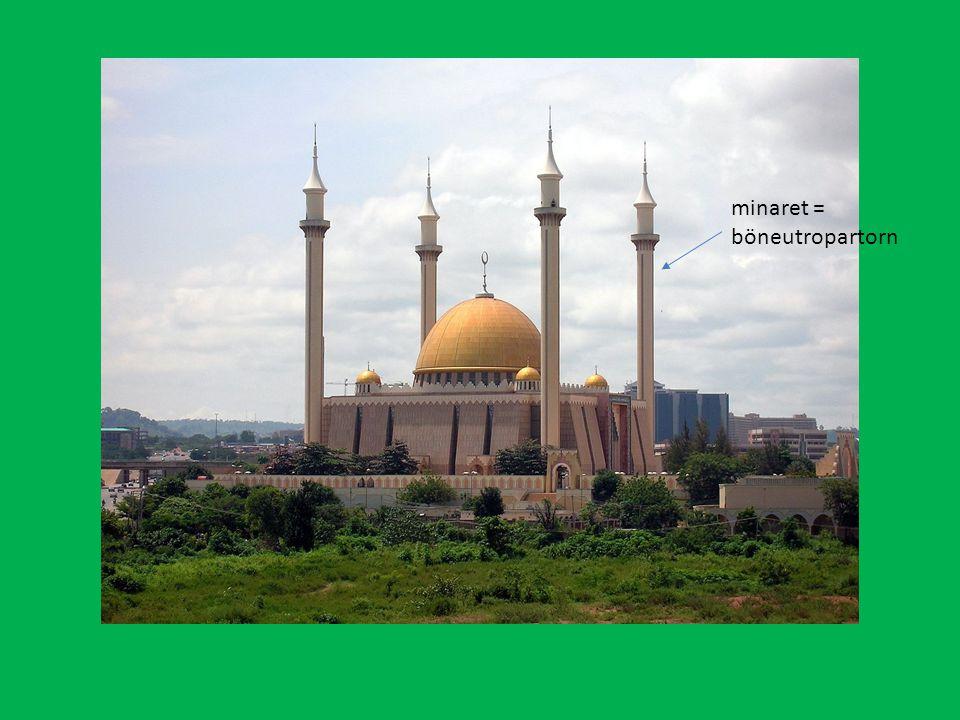 minaret = böneutropartorn