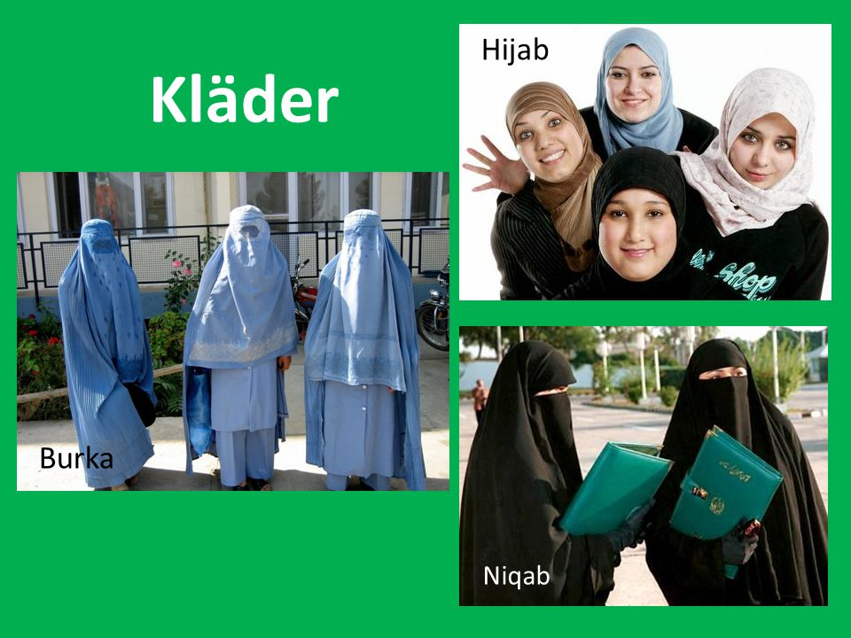Hijab Kläder Burka Niqab