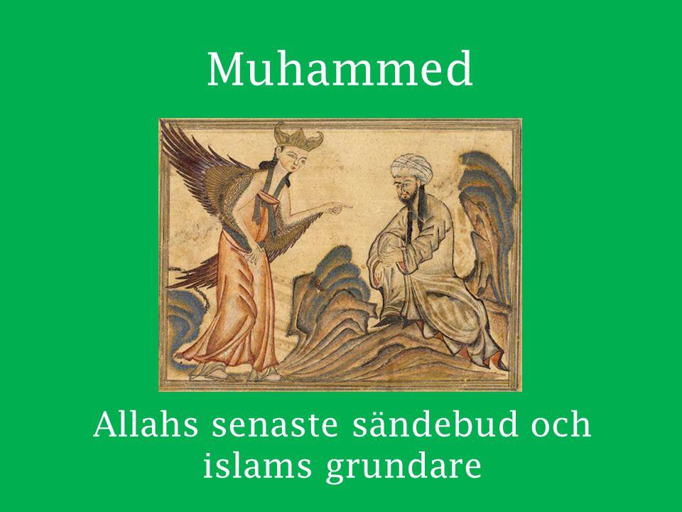 Allahs senaste sändebud och islams grundare