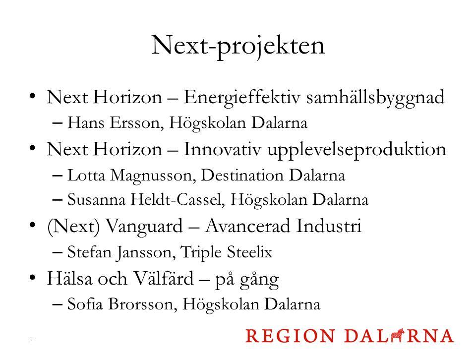 Next-projekten Next Horizon – Energieffektiv samhällsbyggnad