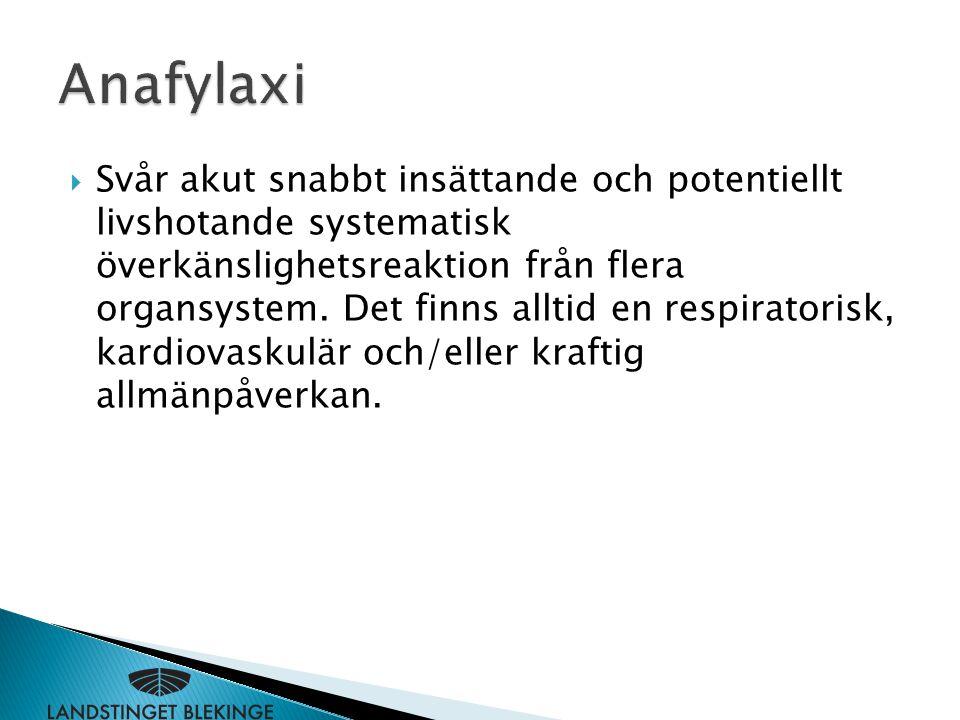 Anafylaxi