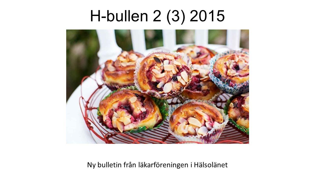 Ny bulletin från läkarföreningen i Hälsolänet