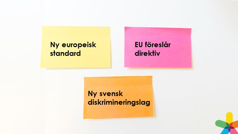 Ny svensk diskrimineringslag