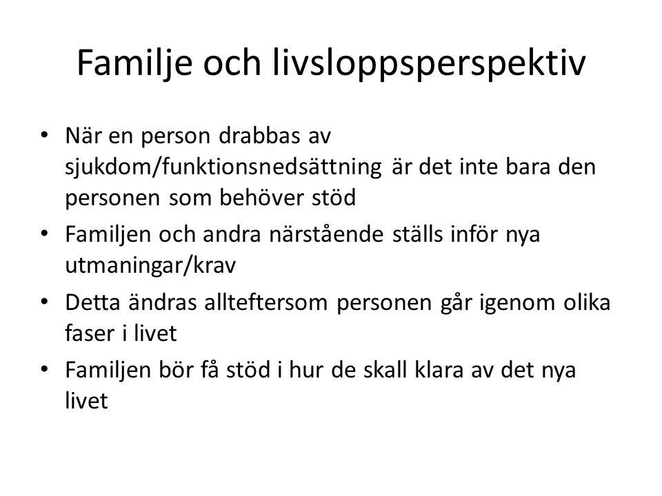 Familje och livsloppsperspektiv