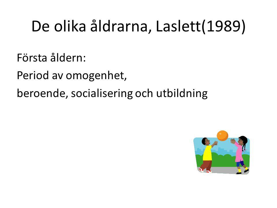 De olika åldrarna, Laslett(1989)