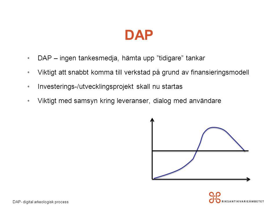 DAP DAP – ingen tankesmedja, hämta upp tidigare tankar