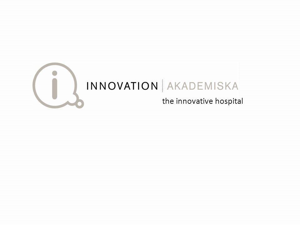 the innovative hospital