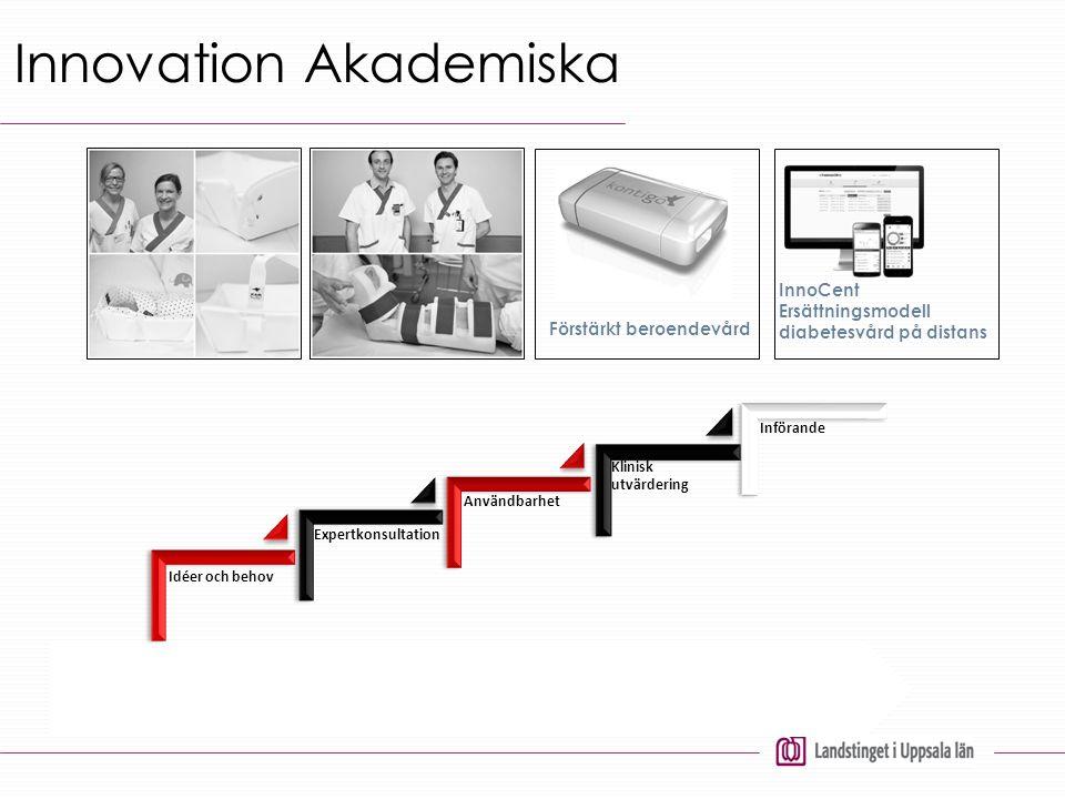 Nyttiggöra Innovation Akademiska InnoCent Ersättningsmodell