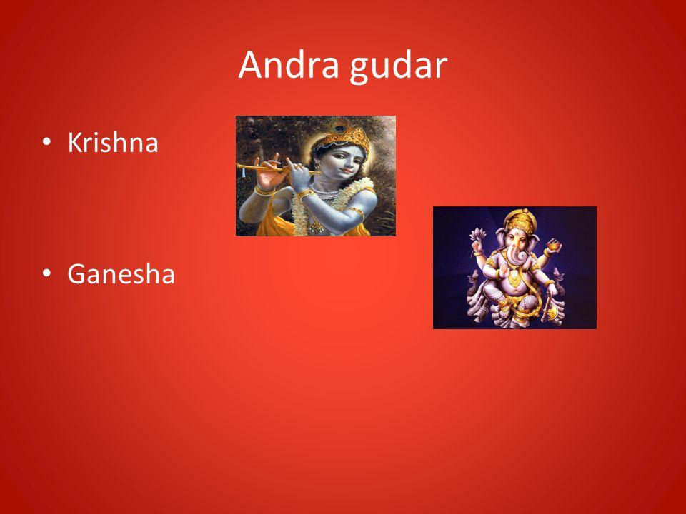 Andra gudar Krishna Ganesha