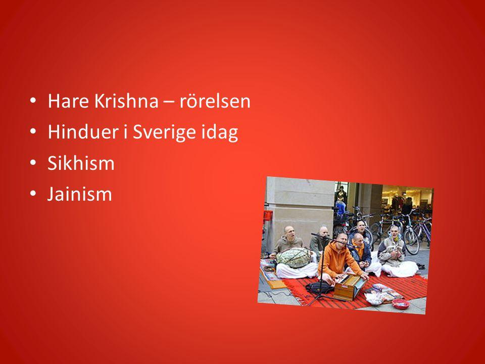 Hare Krishna – rörelsen