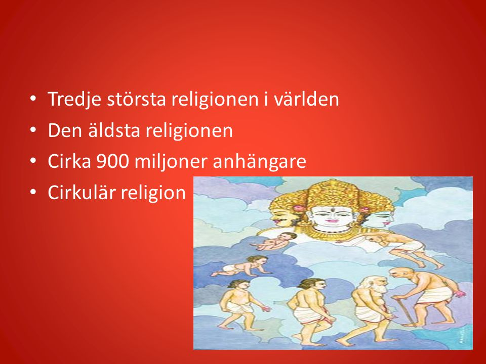 Tredje största religionen i världen