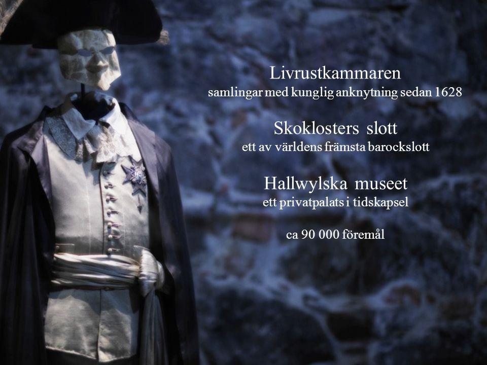 Livrustkammaren Skoklosters slott Hallwylska museet